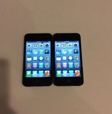 Lot of 2x Apple iPod Touch 4th Generation Black (8 Gb) - Works Great