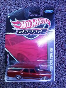 Hot Wheels Garage #7 Red 73' Ford Falcon XB, New