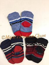 NIB STANCE Infant Boy 3 Pair Pack Cotton Crew Socks 3-6 Months & 6-12 Months