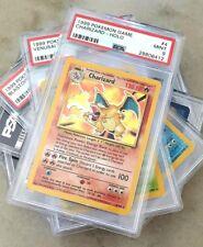 CHARIZARD BASE | PSA 9 (MT) X3 | BLASTOISE & VENUSAUR | 1999 Pokemon Card Holo