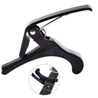 GT- AU_ Quick Release Acoustic Electric Guitar Capo Trigger For Ukulele Mandolin