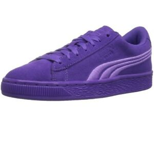 New Puma Suede Classic Badge Sneaker Electric Purple 362952 07 Kids YOUTH Sizes