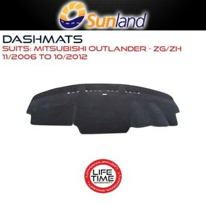 Sunland Dashmat Fits Mitsubishi Outlander ZG/ZH 11/06-10/12 No SunGlass Box/Dash