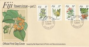 FIJI - 3x OFFICIAL 1984 FIRST DAY COVERS