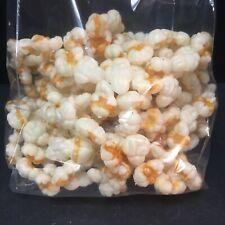 Popcorn Garland Blow Mold Plastic Christmas Vintage 2 Strands Tree Decoration