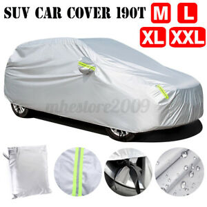 SUV Full Car Cover Waterproof Sun UV Snow Dust Rain Resistant Protection Outdoor