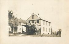 "A View Of ""Lizzie's"" Home In Ashtabula, Ohio OH RPPC 1917"