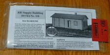American Model Builders Ho #118 Railroad Supply Building (Laser Kit)
