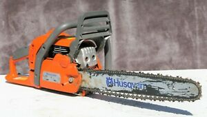 HUSQVARNA MODEL 440 X TORQ CHAINSAW CHAIN SAW LUMBERJACK NICE CONDITION !
