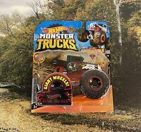 Bone Shaker Redlines * 2020 Hot Wheels Monster Trucks Includes Crushable Car