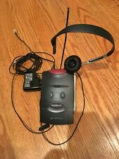 Plantronics S-11 Telephone Headset w/base unit and J-11 cord good condition