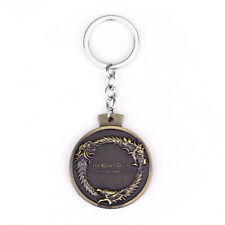 The Elder Scrolls Keychain Skyrim Dragon Pendant Key Chain Ring Game Online Gift