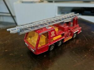Vintage Matchbox Superkings K-9 Fire Tender 1972 Lesney