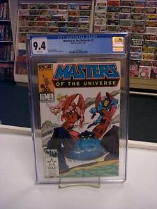 MASTERS of the UNIVERSE #5 (Marvel, 1987) CGC Graded 9.4! ~HE-MAN ~White Pages