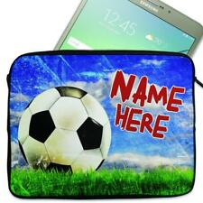 "Personalised Tablet Case FOOTBALL Neoprene Sleeve Cover 7"" 8"" 9"" 10"" 11"" DP22"