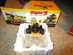 Agco Resin Farm Toy Vehicle NIB Hustler ZTR Super Z Lawn Mower Zero Turn Radius