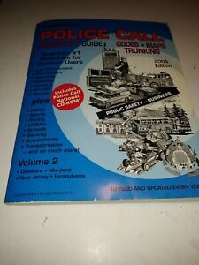 Radio Shack Police Call Frequency Guide Volume 2 Delaware, Maryland, N.J 2005