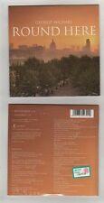 GEORGE MICHAEL - ROUND HERE -  CDs CARDSLEEVE UK - SIGILLATO MINT