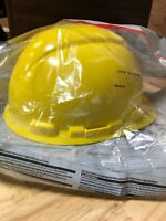 Yellow Non-Vented Hard Hat with Pinlock Adjustment | Model CHHYH1