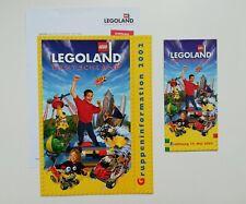 Freizeitpark - Legoland Deutschland - Prospektmaterial - 2002
