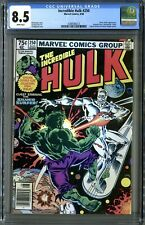 Incredible Hulk #250 (Marvel 8/80) CGC 8.5 White! Milgrom Silver Surfer Cover!