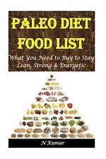 Paleo Diet Food List : What You Need to Buy to Stay Lean, Strong and...