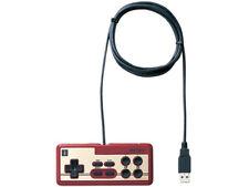 Buffalo Nintendo Famicom USB Gamepad Controller Gaming Tool for PC red