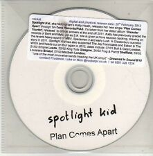 (CU620)Spotlight Kid, Plan Comes Apart - 2012 DJ CD
