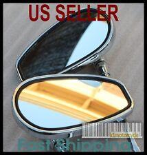 Pair Chrome Mirrors - Kawasaki Vulcan Voyager Classic 700 750 900 1500 1600 1700