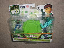 New  Package Ben 10 Bandai Ben & Diamondhead Figure Set
