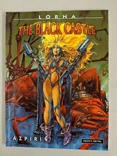Lorna The Black Castle Paperback OOP 2008 Alfonso Azpiri Heavy Metal