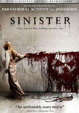 Sinister 0025192175473 With Ethan Hawke DVD Region 1