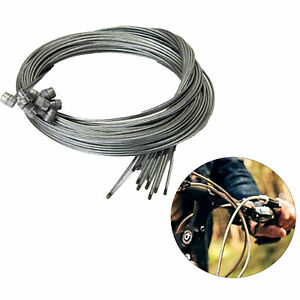 10pcs Bicycle Brake Inner Wire Cable Line Set For Front Rear Road MTB Bike Break