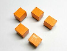 5 pcs x 12V PCB Mount Sugar Cube SPDT Relay (Works on 5V IO with Arduino)