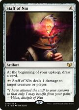 Staff of Nin Commander 2015 NM-M Artifact Rare MAGIC THE GATHERING CARD ABUGames