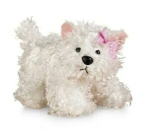 Webkinz Signature White Terrier Dog Brand New WITH CODE & Tag