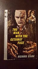 "Richard Stark, ""Man With the Getaway Face,"" 1963, Pocket 6180,VG, 1st"