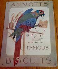 Arnotts Metal Tin Sign Plaque Advertising, Kitchen