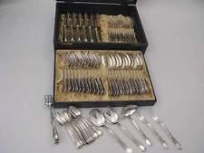 Edles Besteck Rokoko Nica 12 Personen 66 Teile Silber 90er