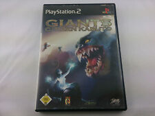 Giants Citizen Kabuto Sony PlayStation 2 2002 DVD Box PS2 PAL Spiel Game