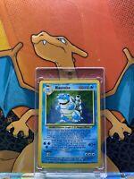 Blastoise Holo Base Set 1999 Unlimited Print VG, 2/102 Pokemon Card