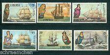 Liberia 845 - 850 , o , Motiv Schiffe