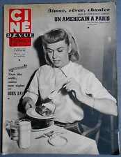 ►CINE REVUE 6/1952-DORIS DAY-JEAN-PIERRE & TINA AUMONT-GENE KELLY-LESLIE CARON..