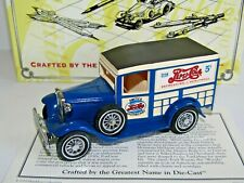 MATCHBOX MODELS OF YESTERYEAR 1932 FORD WOODY WAGON PEPSI-COLA YY21A
