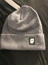 Orage Davis Wool-Blend Beanie One Size Fits Most Gray New