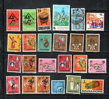 SINGAPORE ASIA STAMPS   USED  LOT  RS19439