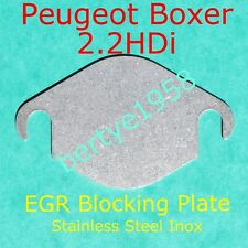 EGR Valve blanking plate 2.2L HDi Peugeot Boxer 2,198cc Stainless Steel Block