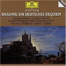 BARBARA BONNEY/CARLO MARIA GIULINI/WP/+ - EIN DEUTSCHES REQUIEM  CD BRAHMS NEW+