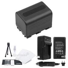 NP-QM71 Battery + Charger + BONUS for Sony HDR-UX1 HC1 DCR-TRV80 TRV50