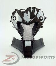 2009-2014 S1000RR Upper Front Nose Center Air Intake Ram Fairing Carbon Fiber